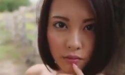 【松岡ちな】かわいい顔して爆乳でエロ乳輪&剛毛な美少女のヘアヌードグラビア♪